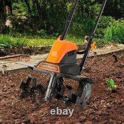 LawnMaster TE1318W1 Corded Electric Tiller Garden Cultivator 13.5-Amp 18-Inch