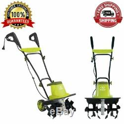 Lawn Electric Garden Tiller Cultivator 16-Inch 13.5 Amp 6 Steel Angled Tines New