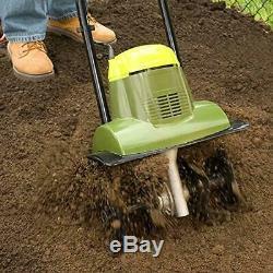 Lightweight Electric Soil Tiller Small Garden Rototiller Cultivator Aerator Tool