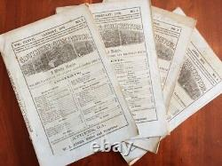 Lot of 9 Athens GEORGIA 1879 Southern Cultivator, Gardening Plantation Magazines
