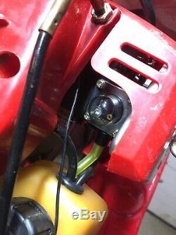 MANTIS TILLER MINI MODEL #7222 SV-4B Kioritz New Carb +Fuel Lines Ready to Work