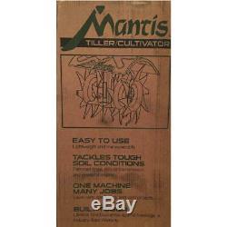Mantis 2-Cycle Front Tine Garden Tiller 1 Each