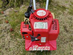 Mantis 2 Cycle Gas Powered Garden Tiller Mini Rototiller Cultivator