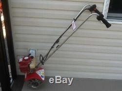 Mantis 2 cycle 501 gas garden mini tiller cultivator / rototiller 7225-00-02