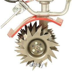Mantis 35cc 4-Cycle XP Gas Power Lawn Garden Earth Curvy Tine Tiller Cultivator
