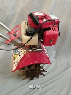 Mantis 7222M 2-Cycle Gas Mini Tiller Rototiller Cultivator For Parts Or Repair