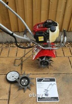 Mantis Deluxe 4 Stroke Honda GX25 Tiller/Cultivator/Rotavator + Edger & Manual