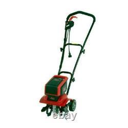 Mantis Electric Tiller Cultivator 9 Amp Corded 3 Position Wheels Outdoor Garden