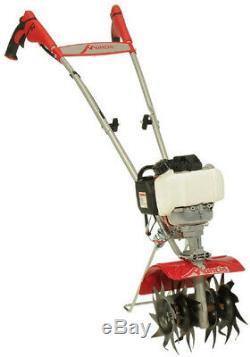 Mantis Mini Tiller 25cc 4-Cycle Honda Engine Lightweight Fold-Down Handles Gas