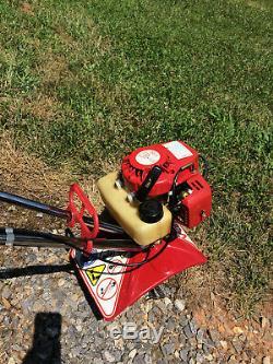 Mantis Tiller Cultivator #7222 with Edger, Dethatcher, Manuals & Spare Parts