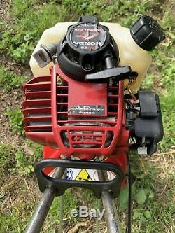 Mantis Tiller with Honda GX25 4 Stroke Garden Cultivator / Rotavator, Edger