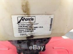 Mantis XP 16 Roto Tiller Honda GX35 Gas Power Lawn Rototiller Garden Cultivator