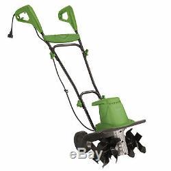 Martha Stewart Electric Garden Tiller Cultivator 16-Inch Adjustable Height