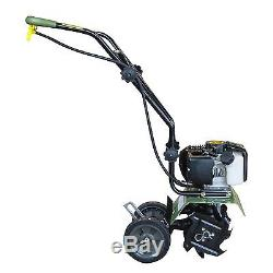 Mini Cultivator Forward Rotating Aerate Weed Gardens MC43 (6/10) 43cc 2-Cycle