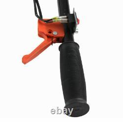 Mini Garden Tiller Cultivator 12 Gas Powered 2HP 2 Stroke 52cc Engine Soil Tool