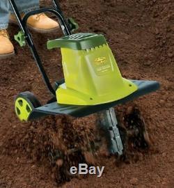Mini Tiller Cultivator Garden Electric Tilling Tool Soil Dirt 16-Inch 13.5 Amp