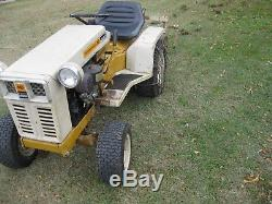 Montgomery Ward B&S 16 H. P. Garden Tractor with Plow & Cultivator