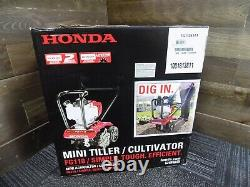 NEW HONDA FG110 25 cc 4-Cycle Middle Tine Tiller Cultivator FG110K1AT