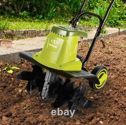 NEW Sun Joe TJ603E Electric Garden Tiller/Cultivator, 16-Inch 12 Amp