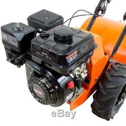 New Garden 18 in 196 cc Gas 4 Cycle Rear Tine Tiller Power Tool cultivator break
