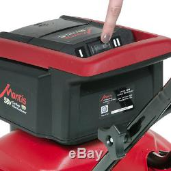 New Mantis Cordless, Battery-Powered Tiller/Cultivator 3558 Includes Battery