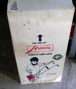 New NOS, in Box, Mantis Tiller \ cultivator # 7222E