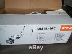 New Stihl Mm56c Yard Boss Tiller Cultivator