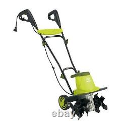 New Sun Joe TJ603E Electric Garden Tiller/Cultivator, 16-Inch 12 Amp Green