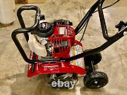 Nice Honda FG110 9 Tiller Middle Tine Cultivator with 25cc GX25 4-Cycle Engine