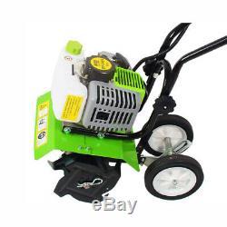 Petrol Tiller Cultivator Rotavator Garden Lawn Machine 5.2 HP