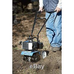 Powerhorse Mini Cultivator Gas Garden Tiller 10in. Tilling Width, 43cc Engine
