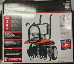 Powermate 43cc Engine 2-Cycle Cultivator with 7 Wheels PCV43 BRAND NEW