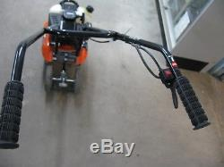 Powermate Cultivator Garden Tiller Flower Bed Weeder Four Tine 8 43cc Cycle Gas
