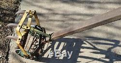 ROHO STYLE WHEELED GARDEN CULTIVATOR TOOL-WEEDER-HOE-FLOWER GARDEN. Ready! NICE