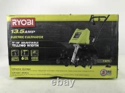 RYOBI 16 in. 13.5 Amp Corded Cultivator
