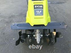 RYOBI RYAC701 16 in. 13.5 Amp Corded Cultivator, GR