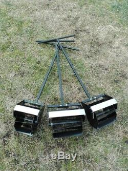 Rotating Hoe Cultivator Garden Gear Weed Digger
