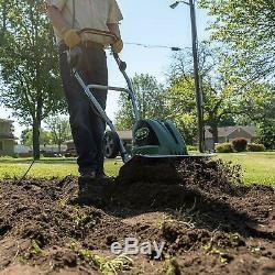 Rototiller Electric Garden Tiller 13.5-A 16 Soil Cultivator Gardening Equipment