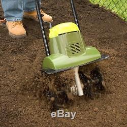 Rototiller Electric Roto Tiller 14 Wide Soil Garden Cultivator Lightweight Lawn