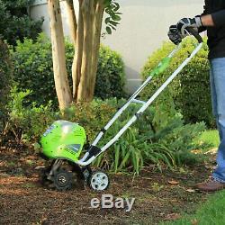 Rototiller Garden Tiller 10inch 40V Cordless Soil Cultivator Gardening Equipment