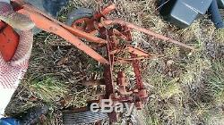 SIMPLICITY ALLIS CHALMERS garden tractor CULTIVATOR