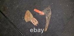 Simplicity / Allis Chalmers garden tractor cultivator, potato digger and knives