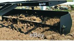 Sleeve Hitch Scraper Box Gravel Soil Leveler Blade Tractor Universal Agri-Fab