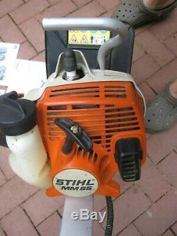 Stihl MM55 Tiller / Cultivator / Dethatcher Lightly Used 27CC Garden Landscaping