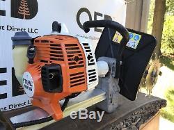 Stihl MM55 Tiller / Cultivator LIGHTLY USED Tiller / SHIPS FAST -27CC TILLER