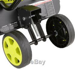 Sun Joe 13.5-Amp 16 in. Electric Tiller/Cultivator with 5.5 in. Wheels