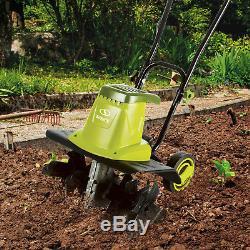 Sun Joe 16-Inch 13.5 Amp Electric Garden Tiller/Cultivator, TJ604E