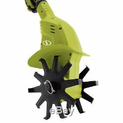 Sun Joe 24V-TLR-LTE Cordless Garden Tiller + Cultivator 24-Volt 2.0 Ah
