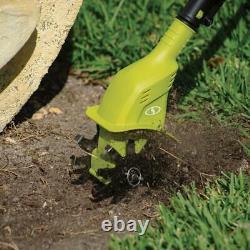 Sun Joe 24V-Tlr-Ct Cordless Garden Tiller + Cultivator 24-Volt 2.0 Ah Cor