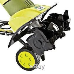 Sun Joe 9-Amp Electric Garden Tiller Cultivator Steel 90 Day Warranty